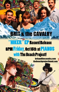 Brit & The Cavalry CD Release Party