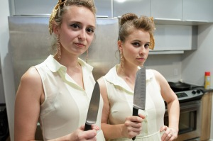 lucius with knives